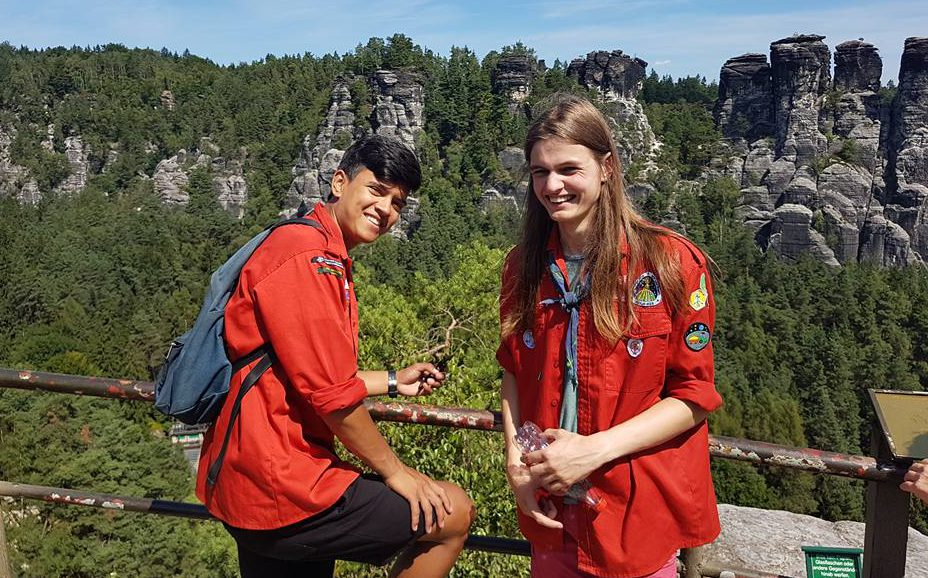 explorers in Lohmen, Duitsland